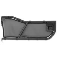 Warrior Products 90875 Front Tube 2-Door Mesh Cover for Jeep XJ 84-96 (Cover Tube Mesh Door)