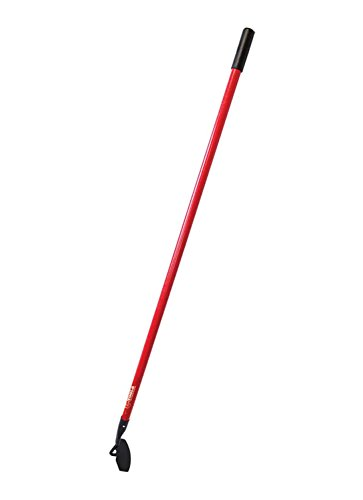 Bully Tools 92417 7-Gauge Curved Garden Hoe with Fiberglass Handle by Bully Tools