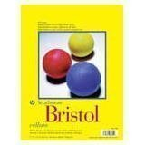 Strathmore 300 Series Bristol Sheet, 100 lb. Vellum Surface, 22.5 X 28.5 inches, White, 25 Sheets (345-12) by Strathmore