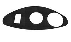 EZGO RXV (Freedom) Dash Cover Plate - Carbon Fiber
