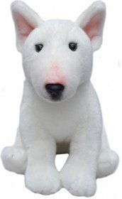 Toy Bull Terrier - Faithful Friends Bull Terrier Dog Stuffed Animal 12
