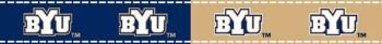 Brigham Young University RIBBON by Sykel (Brigham Young University Fabric)