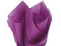 Plum Tissue Paper - Bulk Tissue Paper Plum Purple 20 Inch x 30 Inch - 48 Sheets