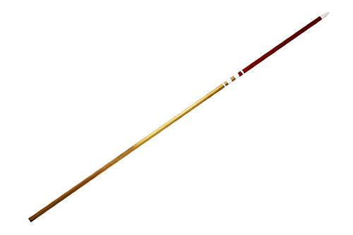 - Rose City Archery Port Orford Cedar Hunter Elite Crown Dipped/Crested/Nocked Lacquer Shaft with 60-65 lb Spine Weight (12 Pack), Clear/Red, 23/64