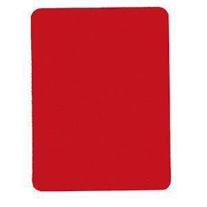 Saller Schiedsrichter-Karten einzeln, rot