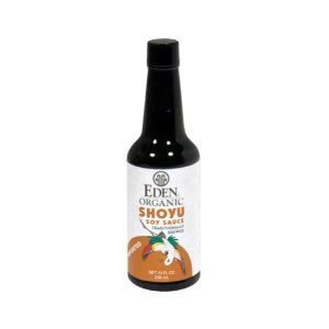 Organic Shoyu Soy Sauce Imported 10 Ounces (Case of 12) by Eden