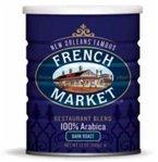 French Market Restaurant Blend Dark Roast Coffee, 12oz (3 Pack)