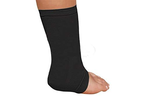 Silipos Active Gel Achilles Heel Sleeve 1 Sleeve - Latex Free, Hypoallergenic Fasciitis Support for Heel Pain. Leg and Foot Support