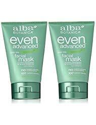 Mask Alba Facial - Alba Botanica Alba botanica even advanced, deep sea facial mask 4 oz (set of 2)