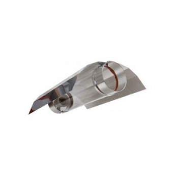 Riflettore Ventilato COOL-TUBE 12, 5cm + Riflettore Stuco Agrolite