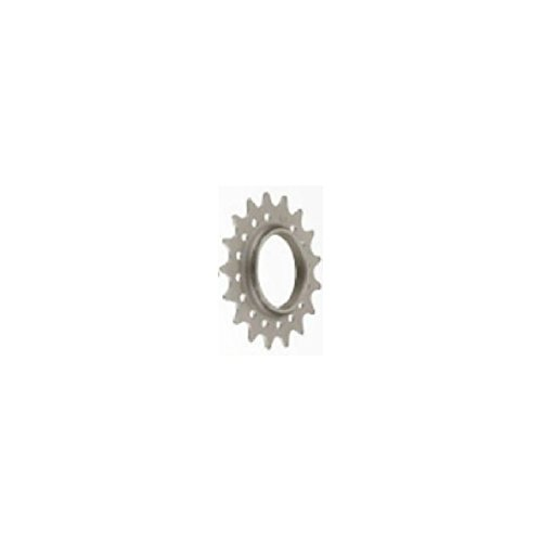 Mr Control 3/32 Chromoly Track 17 Tooth Cog Silver Fixed Gear Single Speed Cog by Cyclists' Choice