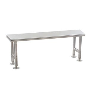 - Eagle Group CRB1260 Solid Gowning Bench, Stainless Steel Finish