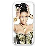 iPhone 5S Phone Case,Nicki Minaj Popular Gifts Case Cover for iPhone 5,5S and...