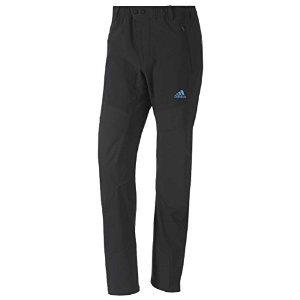 Adidas Men's Terrex Mountain Pants - Black/ Solar Blue 34