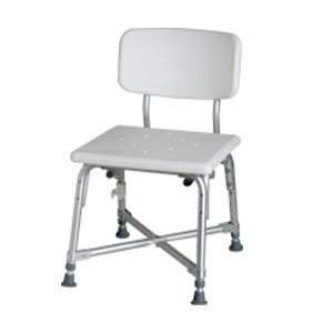 Medline Bariatric Aluminum Bath Bench with - Aluminum Benches Bath Medline