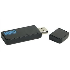 HiRO H50334 Dual Band 802.11AC AC600 5G 433Mbps Wireless WiFi WLAN USB Network Adapter Windows 10 Plug N Play No Driver Installation Needed Windows 8.1 8 7 Compatible