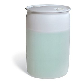 New Pig DRM1138 Tight-Head UN Rated HDPE Drum, 30 Gallon Capacity, 19-1/4'' Diameter x 29'' Height, Translucent