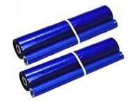 Brother PC402RF PC402RF Thermal Transfer Refill Roll, Black, 2/PK Brother Pc402rf Thermal Fax