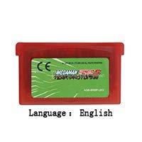 32 Bit Handheld Console Video Game Cartridge Card MegaMan Battle Network 5 Team Protoman English Language EU Version Red shell