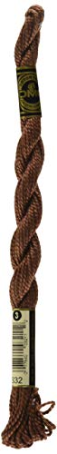 DMC 115 3-632 Pearl Cotton Thread, Ultra Very Dark Desert Sand