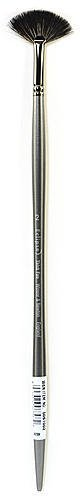 Winsor & Newton Eclipse Black Sable Brushes (Size: 2) - Thick Fan 1 pcs sku# 1830829MA by Winsor & Newton