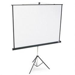 Bretford Presentation (3770MKE - Bretford Series 375 3770MKE - Projection screen with tripod - black, matte white)