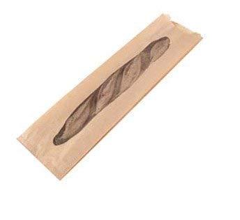 Bolsas kraft para pan para una o dos barras de pan: Amazon ...