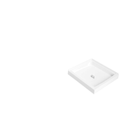Proflo PFSB4242 Single Curb Rectangular Shower Pan (42