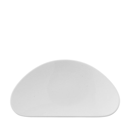Rosenthal Free Spirit 8-1/4-Inch White Porcelain Oval Side Plate (Rosenthal Oval Plates)