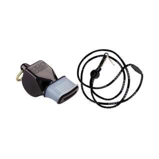 Fox 40 Cmg Whistle - Fox 40 Classic CMG Official Whistle with Break Away Lanyard (Black)
