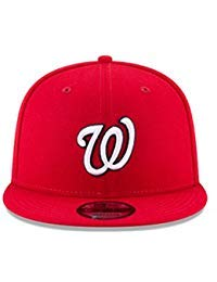 New Era 950 MLB Basic Team Color Washington Nationals Snapback Cap