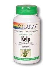 Solaray Kelp 640 mg 60's by Solaray - Solaray Kelp