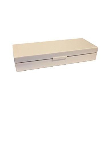 50 Capacity Slide Storage Box, White. 97-0055