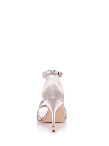 GUESS mujer sandalias con tacón FL2DVOSAT03 GRIS gris