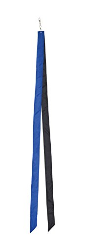 In the Breeze Colorblock Kite Tails, Blue/Black, 60-Inch ()