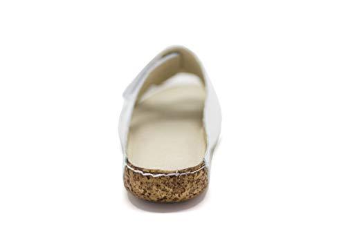 Bianco in KS Scarpe Donna Sandali 400 Pelle estive da wRqHvpw