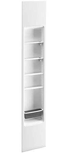 KOHLER K-97631-0 Choreograph 14'' Shower Locker Storage, White by Kohler