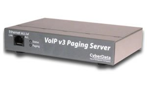Cyberdata VoIP V3 Paging Server