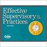 Book Effective Supervisory Practices (Municipal Management Series) (1995-04-03)