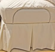 Amazon.com: Bedskirt for Twin XL Adjustable Bed Systems   White