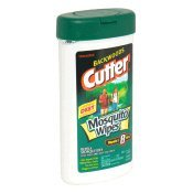 Cutter Backwoods Mosquito Wipes - Backwoods Cutter Mosquito Wipes