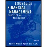 Financial Management: Principles and Applications Study Guide