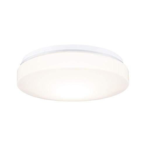 Paulmann HomeSpa Axin 78898 Plafondlamp IP44 260 mm max. 18 Watt Plafondlamp Wit Badkamerlamp Kunststof E27