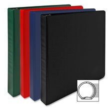 3-Ring Binder W/Sht Lifters,3'' Capacity,11''x8-1/2'',DK.Blue, Sold as 1 Each