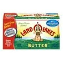 Land O Lakes Quarter Salted Butter, 8 Ounce -- 12 per case.