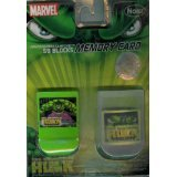 The Incredible Hulk 59 Block Memory Card For GameCube With Storage Case