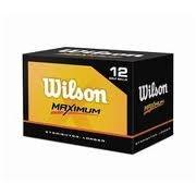 Caddyshack Golf Co Inc WGWR54602 Wilson Maximum Golf Ball, Pk/12, Outdoor Stuffs