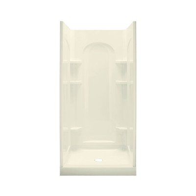 Sterling Plumbing 72210100-96 Ensemble Curve Shower, Biscuit