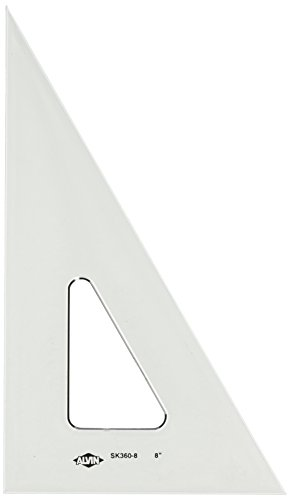 Alvin SK360 8 inch Smoke Tint Triangle