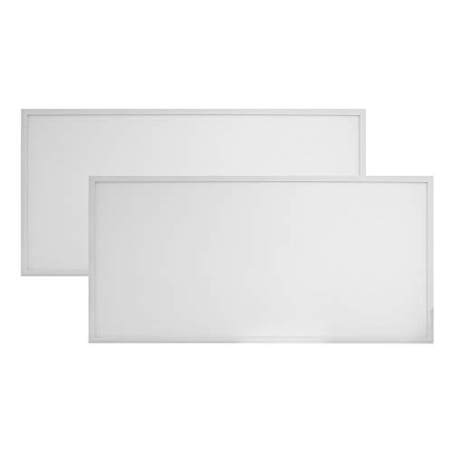 2-Pack, Premium 1ft x 4ft LED Flat Panel - 40 Watt - Dimmable - 5050 Lumens - LumeGen - 4000K